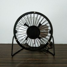"4"" Metal Mini Fan (Black)"
