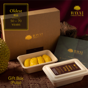 Oldest Raja Kunyit Gift Box (300g) - Up to 70 Years Old Tree