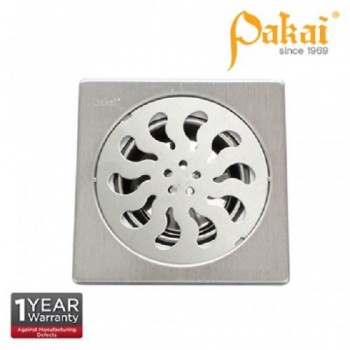 """Pakai 6'' X 6"""" Stainless Steal Floor Grating With Insect Resistant Trap PK-FA117"""