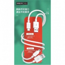 Casim Design A-C74 Micro 4A.40W Fast Charging USB Data Cable