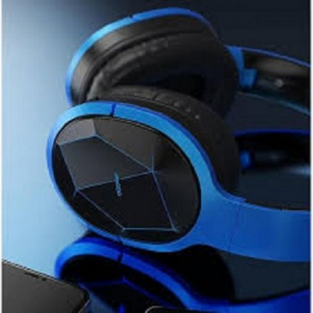 Proda BH200-B High Quality Wireless Bluetooth Headphone HD Audio - Blue