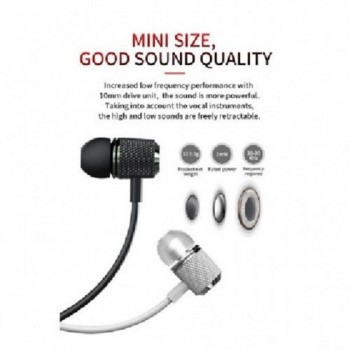 Proda PD-E600 3.5MM Audio Jack In-Ear Wire Earphone