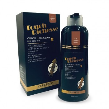 Touch Richesse Color Hair Gloss – 4.45 Chestnut Brown