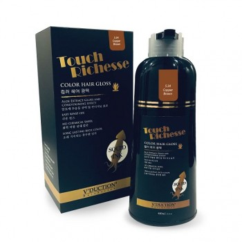 Touch Richesse Color Hair Gloss – 5.34 Copper Brown