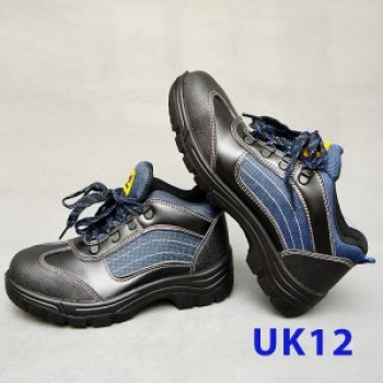 Sport Type Laced Safety Shoe - Mid Cut (UK12)