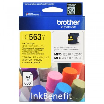 Brother LC-563 Yellow Ink Cartridge