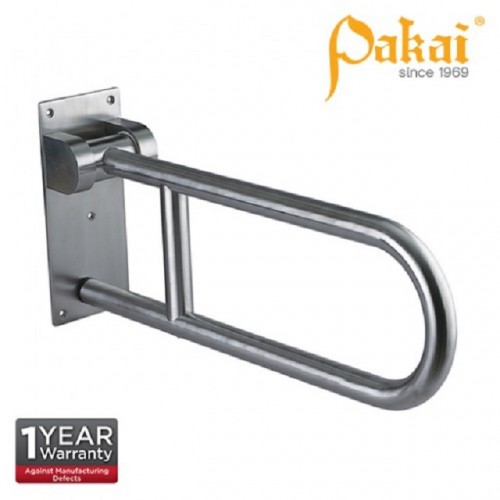 Pakai Wall Mount Swing Up U-Bar 700mm PK-BF-8874SS-700