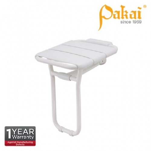 Pakai Wall Mount Swing Up Shower Seat with Floor Support PK-BF-8905