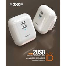 Moxom KH-57 High Speed Charger Adapter (2.4A)