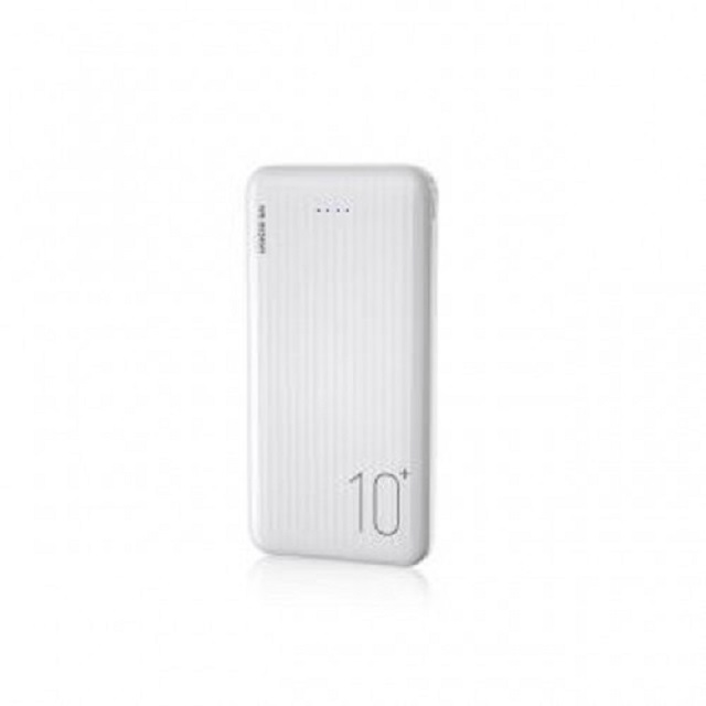 WK Design WP129-W 10000mAh Power Bank with Type-C & Micro Input Fast Charging - White