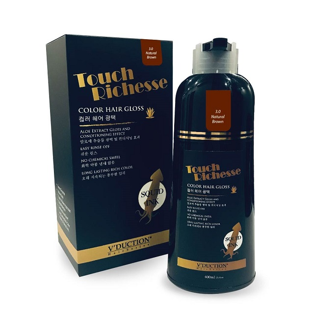 Touch Richesse Color Hair Gloss 400ml – 3.0 Natural Brown