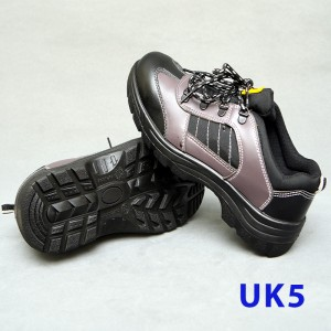 Sport Type Laced Safety Shoe - Low Cut (UK5)
