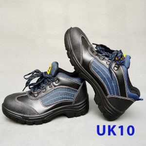 Sport Type Laced Safety Shoe - Mid Cut (UK10)