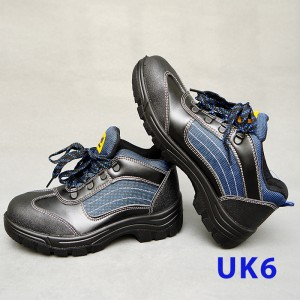 Sport Type Laced Safety Shoe - Mid Cut (UK6)